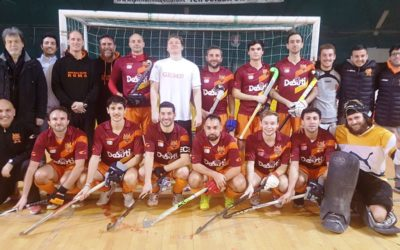 Hockey Indoor M / La HC Roma De Sisti A Bologna  Per La Final Six Indoor