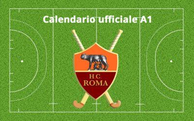 Calendario Ufficiale A1