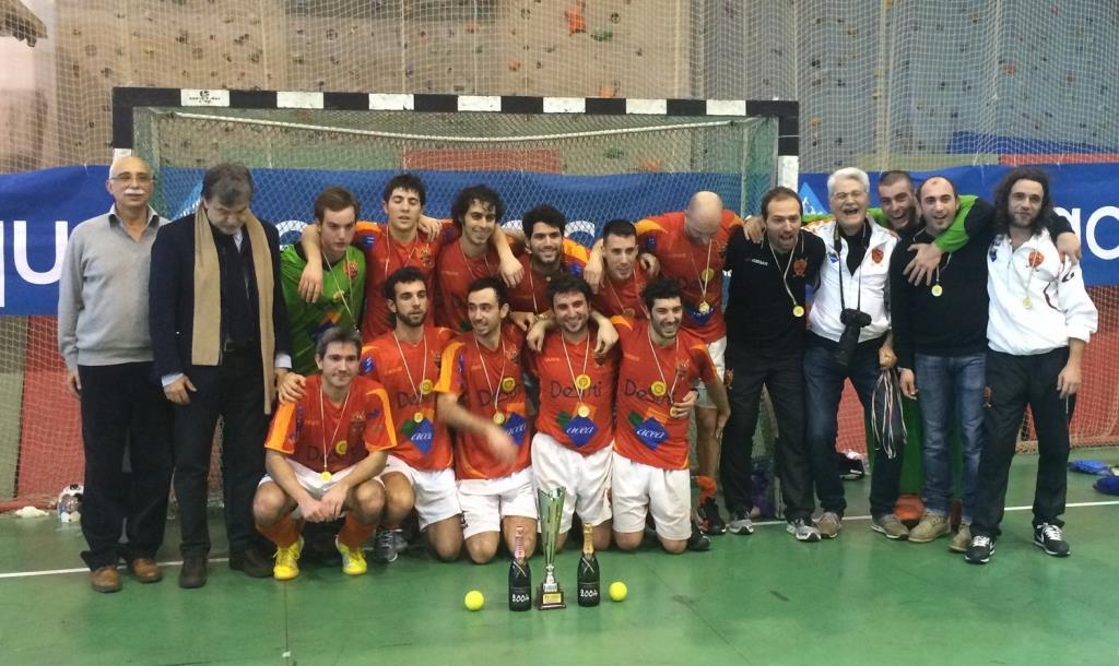 La De Sisti Roma Campione D'Italia Indoor 2013-14 Rid.