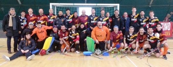 La Squadra Indoor Della De Sisti Roma 2016 17 Al Gran Completo