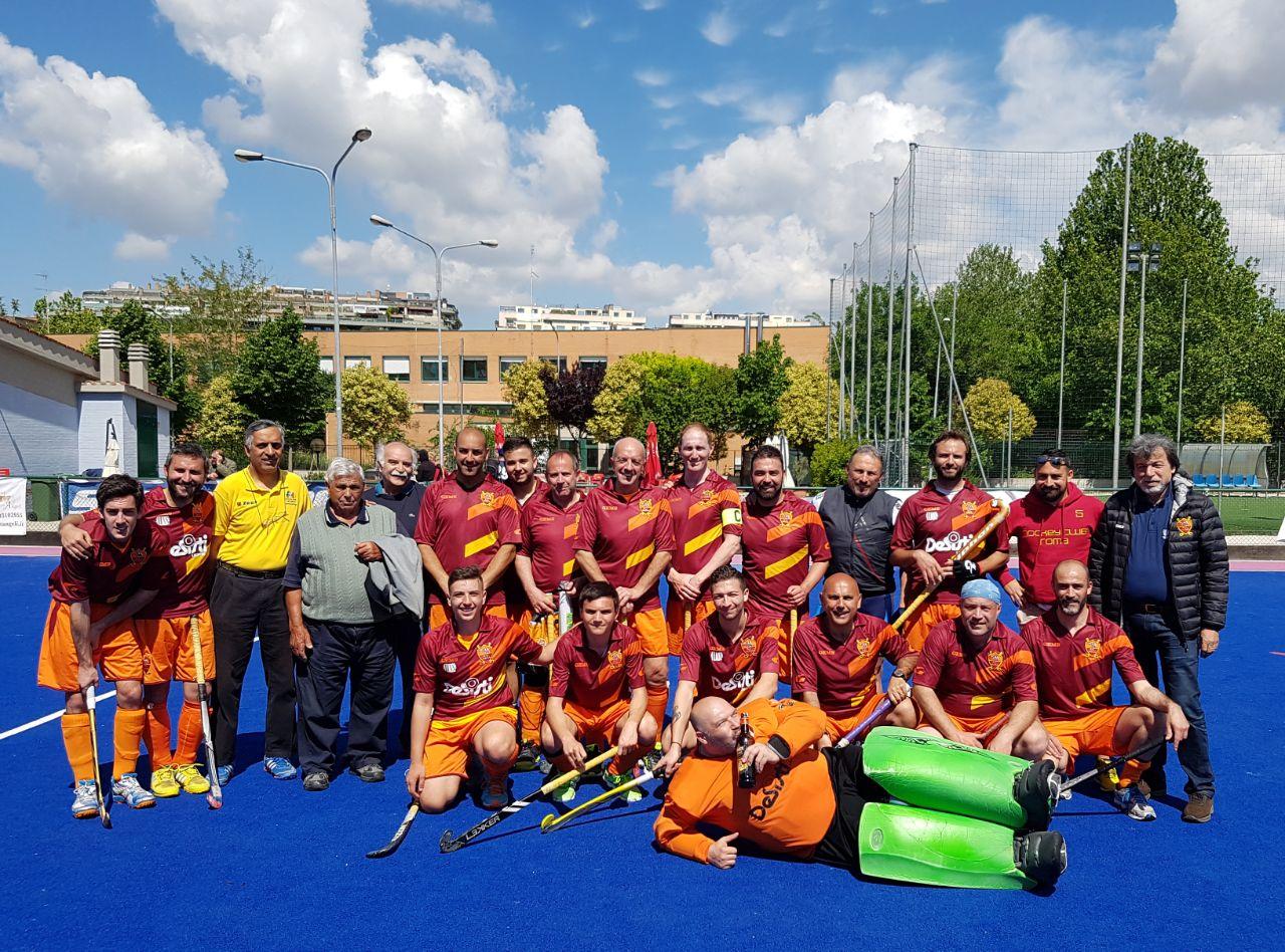 Roma Legends Dopo La Vittoria Con Il Campagnano