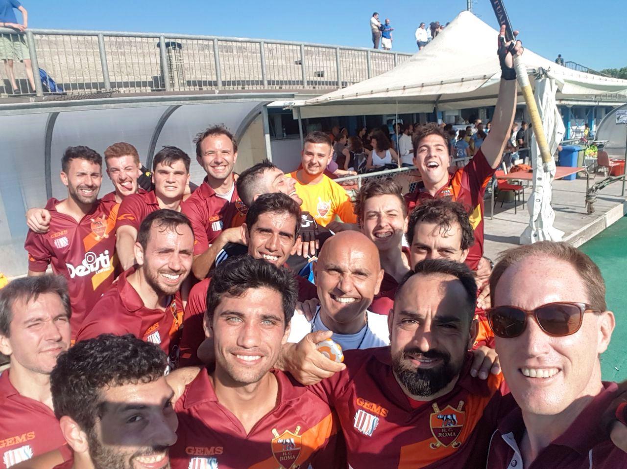 Il Selfie Dopo La Vittoria A Pisa