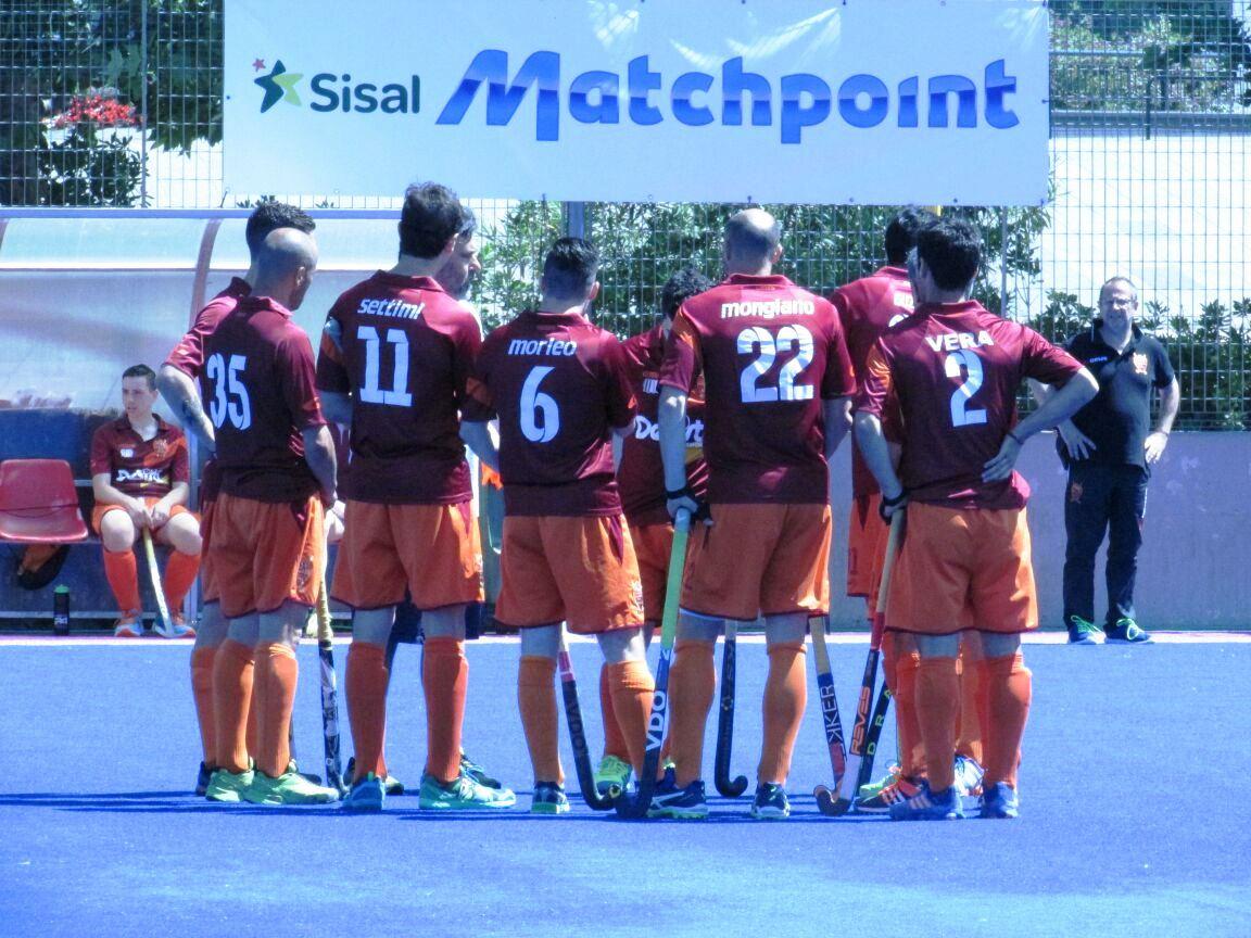 Un Momento Di Break Tra HC Roma E Ferrini