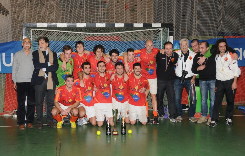 La De Sisti Acea Roma Campione D'Italia Di Hockey Indoor 2013 2014 R.