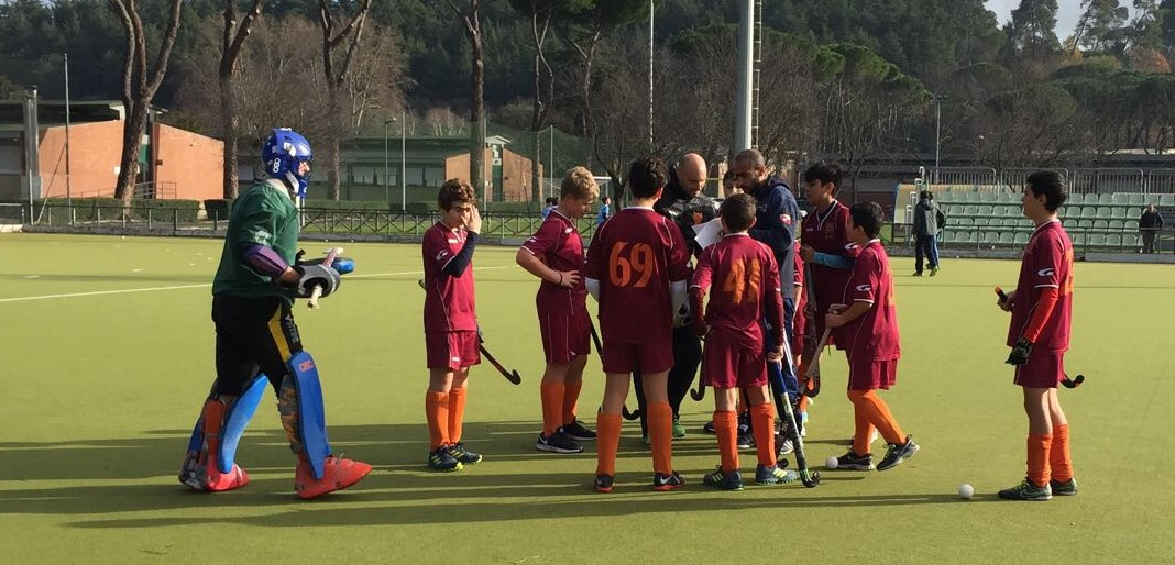 L'under 14 Della Roma All'appello