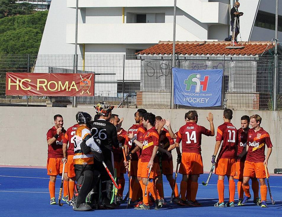Una Foto Di Repertorio Dell'Hockey Club Roma 2017 18