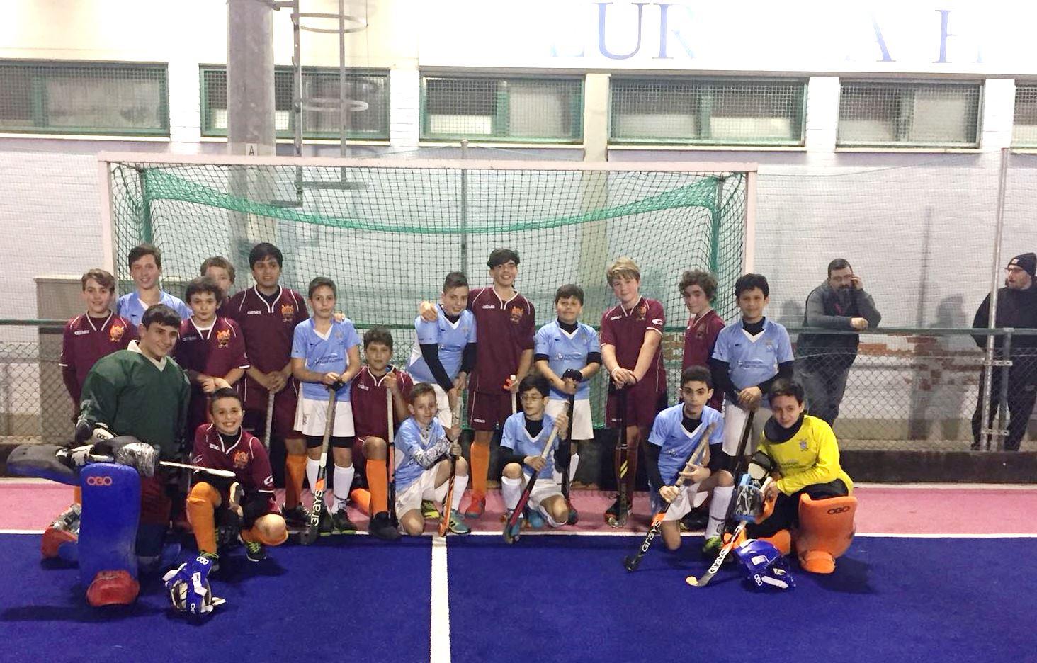 Foto Finale Per HC Roma E Lazio Under 14