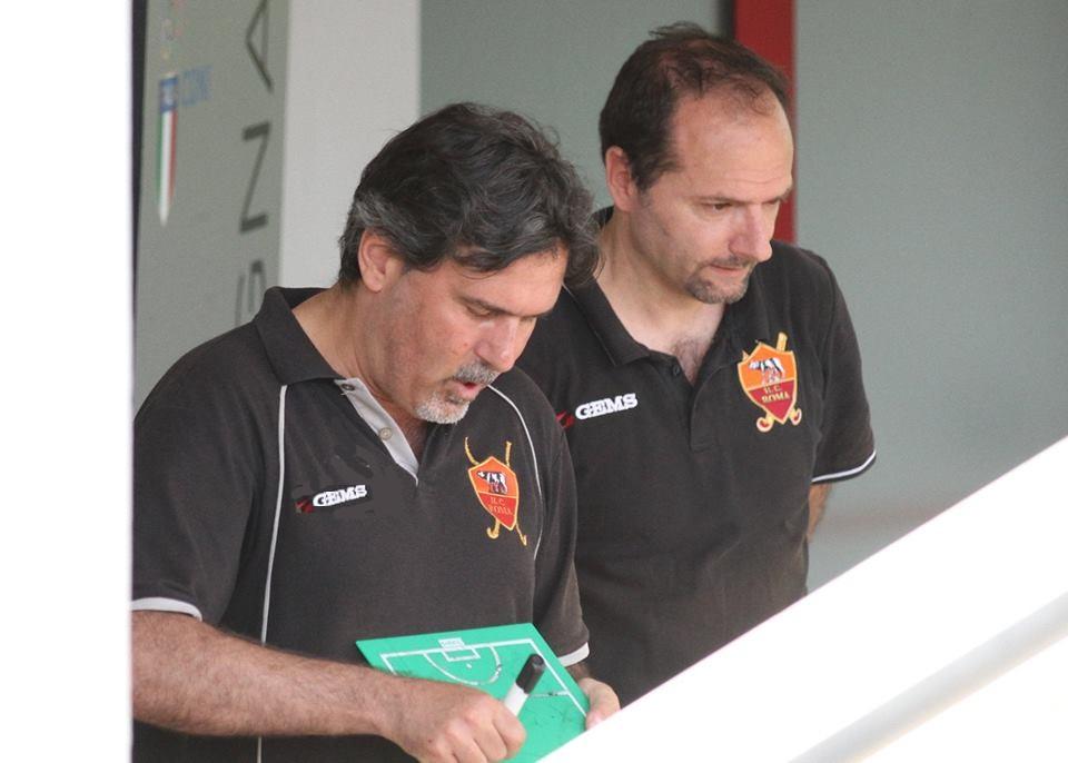Il Coach Chionna Con Lassistant Luciano Pepe
