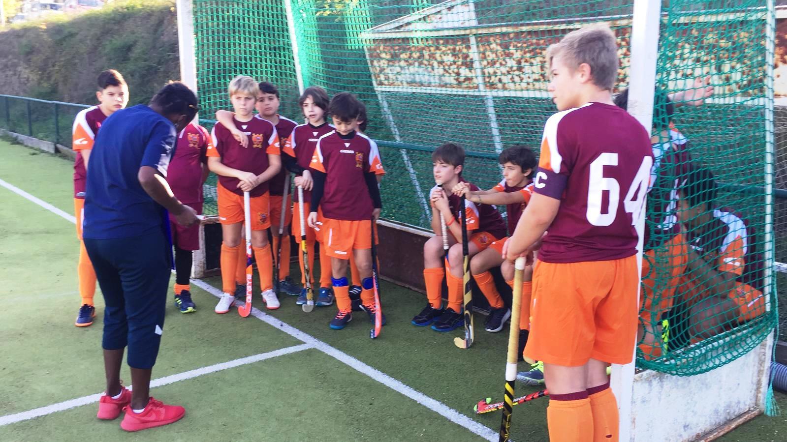 Gli Under 14 Della Roma Con Il Coach Lilian Kimeu A Campagnano