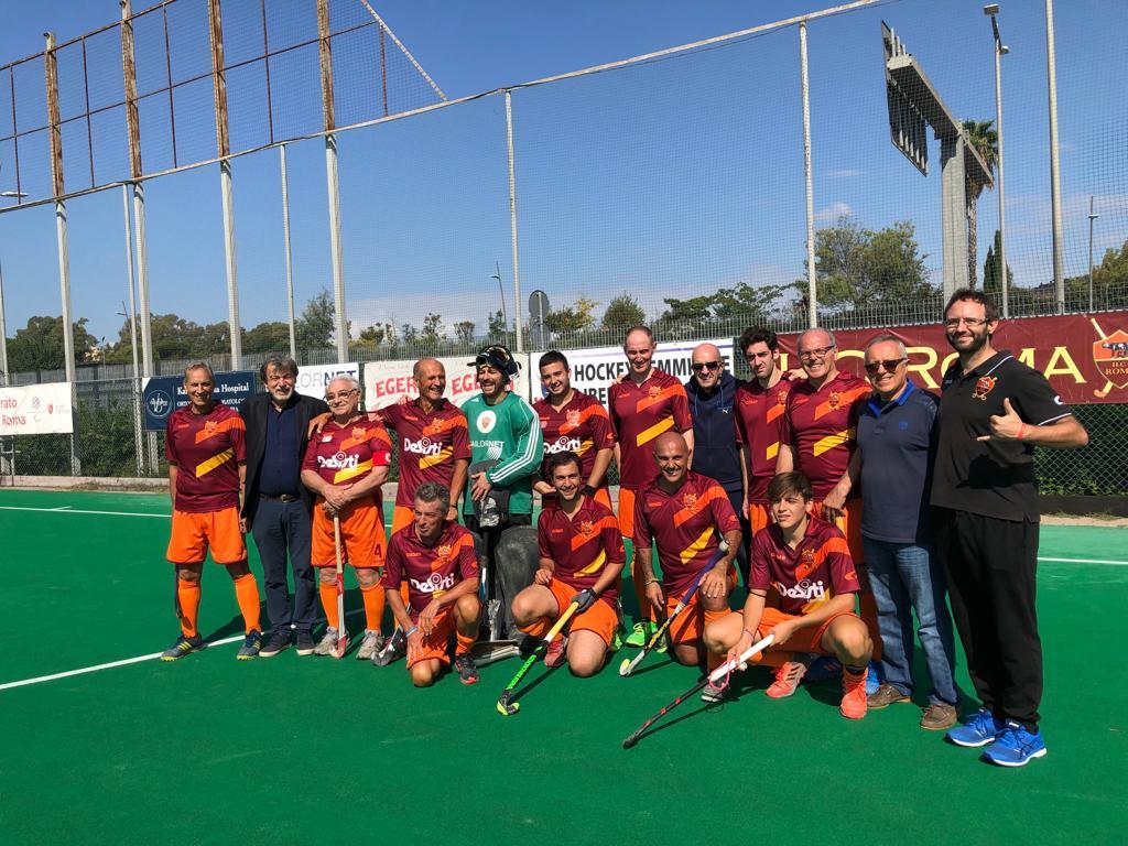 La Roma Graffiti Impegnata Nel Campionato Di Serie B
