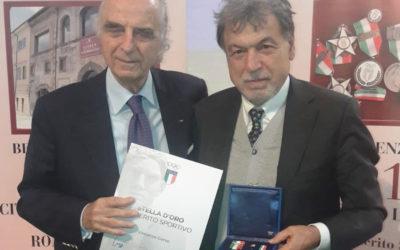 Ad Enzo Corso La Stella D'Oro Al Merito Sportivo, L'onorificenza Del Coni Riservata Ai Dirigenti Sportivi